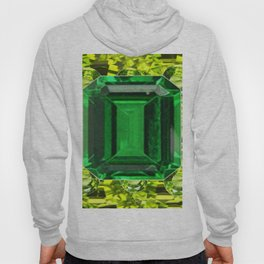 GREEN EMERALD & PERIDOT GEMS VINETTE Hoody