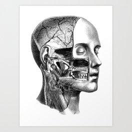 I rip your face Art Print