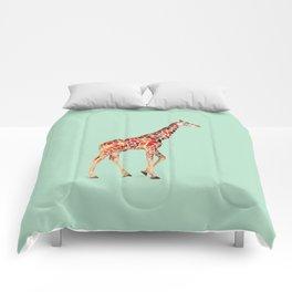 COLORED GIRAFFE Comforters