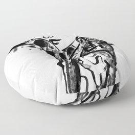 Black & White Ego Floor Pillow