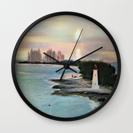 The Islands Of The Bahamas - Nassau Paradise Island Wall Clock