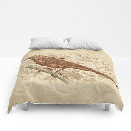 Steampunk Songbird  Comforters