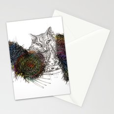 Stuck in the sofa Stationery Cards