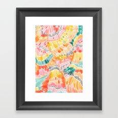 Pattern 6 Framed Art Print
