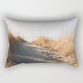 Trail to the beach Rectangular Pillow