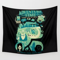 Legends from the Land of Ooo Wall Tapestry