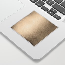White Gold Sands Sticker