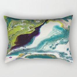 Peacock Island Rectangular Pillow