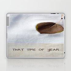 That Time of Year Laptop & iPad Skin