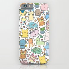 Kawaii Pokémon iPhone 6s Slim Case