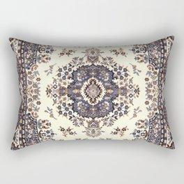 V8 Moroccan Epic Carpet Texture Design. Rectangular Pillow