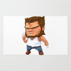 Mini Wolverine Rug