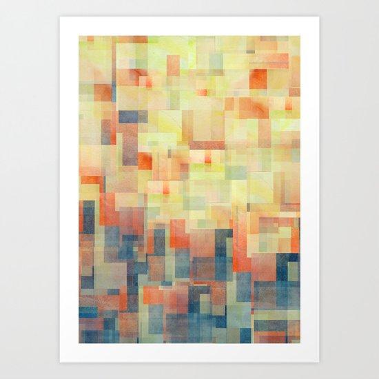 Cubism Dream (Brush Fire Remix) Art Print