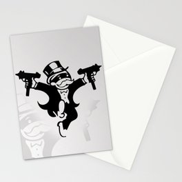 Monopoly Gangster Stationery Cards