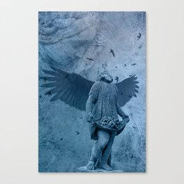 Little Birds, Look After Our Lucie Canvas Print