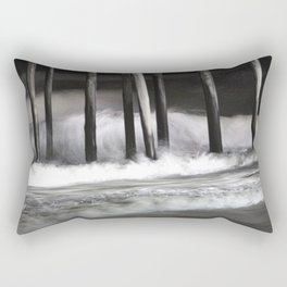 Ocean in the Moonlight Rectangular Pillow