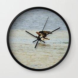 Dancing on the Sandbar Wall Clock