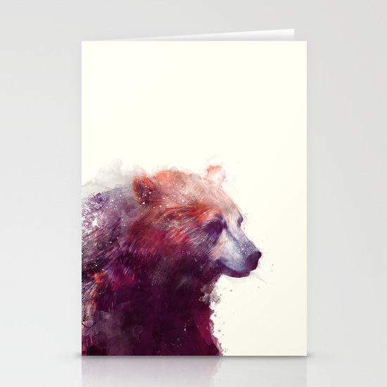 Bear // Calm Stationery Cards
