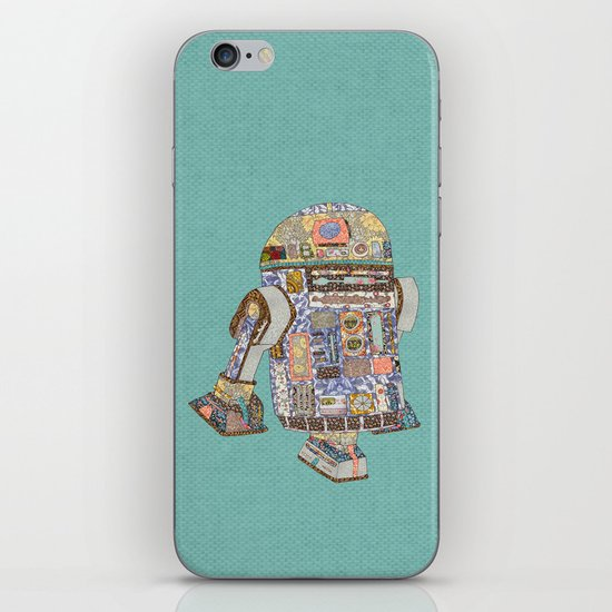 R2D2 Crashed Into A Flower Shop iPhone & iPod Skin