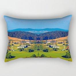 Beautiful springtime scenery Rectangular Pillow