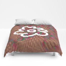 White Flower S11 Comforters