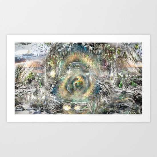 The Well Art Print