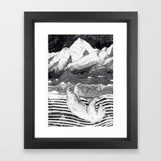 AWAKE & DREAMING Framed Art Print