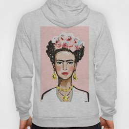 Face on Soft Pink Hoody