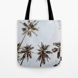palm trees xiv / chiang mai, thailand Tote Bag