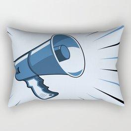 Megaphone Rectangular Pillow