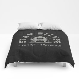 """""""Stay Silver"""" Retro Type (1 color) Comforters"""