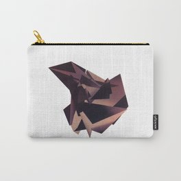 3D purple flying object Carry-All Pouch