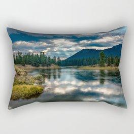 Snake River Revival - Morning Along Snake River in Grand Tetons Rectangular Pillow