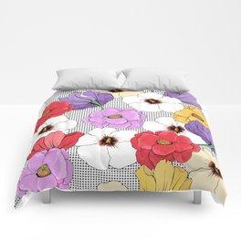 Garden flowers Comforters