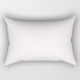 Linework Geometric Rectangular Pillow