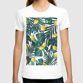 Tropical Lemon Twist Jungle #1 #tropical #decor #art #society6 T-shirt