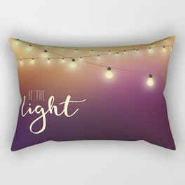 Be the light Rectangular Pillow