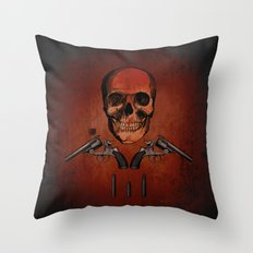 Stand and deliver Throw Pillow