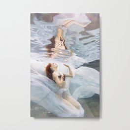 Underwater Angel 1 Metal Print