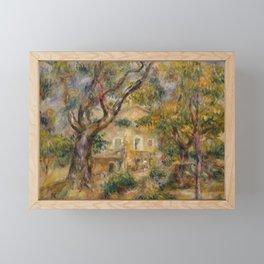 """Pierre-Auguste Renoir """"The Farm at Les Collettes, Cagnes"""" Framed Mini Art Print"""