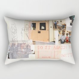 do better Rectangular Pillow