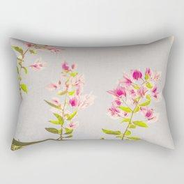 Dreamy Bougainvilleas Rectangular Pillow
