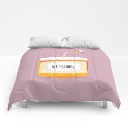 Bee flexible Comforters