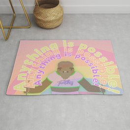 Anything is possible - Perhaps It's You Podcast Fan Art Rug