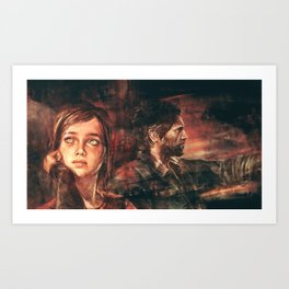 The Road Less Traveled Art Print