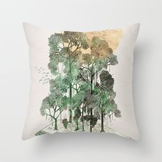 Jungle Book Throw Pillow