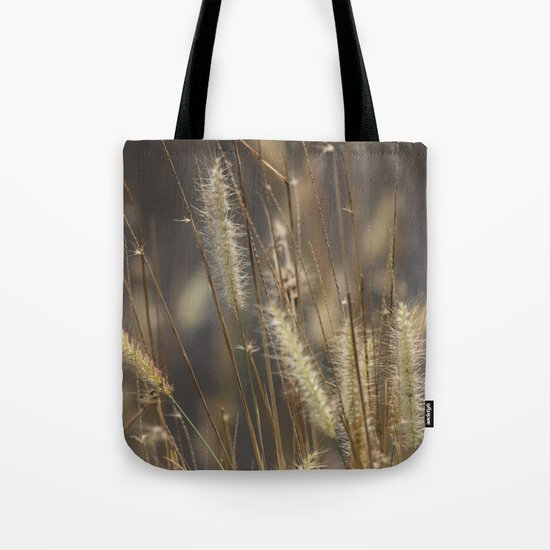 Blowing in the wind. Tote Bag