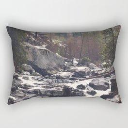 Morning Mountain Escape - Nature Photography Rectangular Pillow