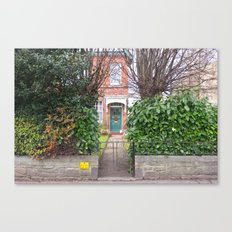 Into the house Canvas Print