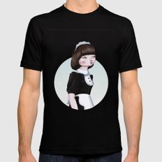 Air Doll MEDIUM Black Mens Fitted Tee